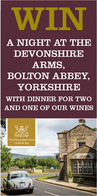 Win a night at the devonshire arms